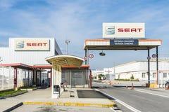 SEAT-fabriek, Barcelona, Spanje Royalty-vrije Stock Afbeelding
