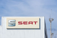 SEAT factory, Barcelona, Spain Stock Photography
