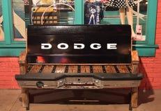 Seat a fait avec des pièces de vieux camion de Dodge à la vieille ville Kissimme photo libre de droits