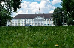 Seat of the Federal President of the Federal Republic of Germany royalty free stock photo
