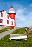 A Seat in Ferryland Royalty Free Stock Images