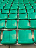 Seat football stadium. Stock Image