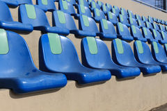 Seat of football stadium. Stock Image