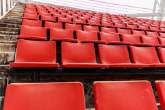 A seat. Seat football stadium in a stately Larger royalty free stock photos