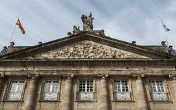 Seat Galicia rząd w Santiago De Compostela (Hiszpania) obraz royalty free
