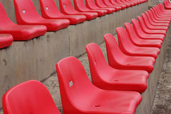 Seat grandstand Stock Image