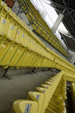Seat grandstand. Stock Photo