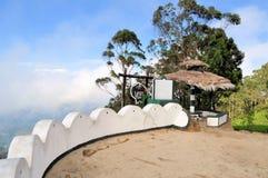 Seat in Haputale, Sri Lanka di Lipton di punto di vista Fotografia Stock