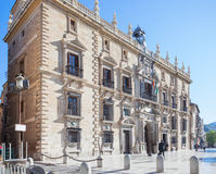 Seat of the High Court of Andalusia, in Granada, Spain Royalty Free Stock Images