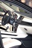 Seat i sterowanie samochód Obrazy Stock