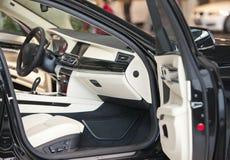 Seat i sterowanie samochód Zdjęcie Royalty Free