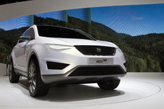 Seat IBX SUV Concept - Geneva Motor Show 2011 Royalty Free Stock Images
