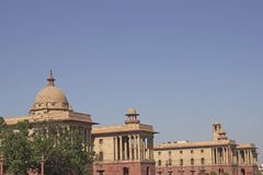 Seat of the Indian Government Royalty Free Stock Image