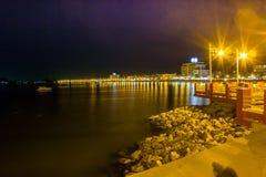 Seat-Küste Prachuap-Bucht Lizenzfreie Stockfotos