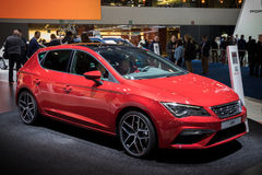 Seat Leon car Royalty Free Stock Photography