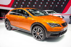 Seat Leon Cross Sport Images stock