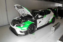 Seat Leon Cup  in Monza Royalty Free Stock Photos