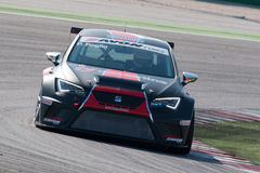 SEAT LEON EURO CUP RACE CAR Stock Images
