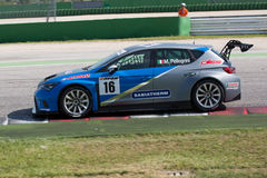 SEAT LEON EURO CUP RACE CAR Royalty Free Stock Images