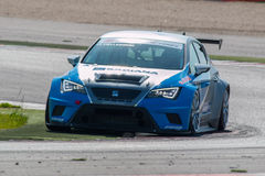 SEAT LEON EURO CUP RACE CAR Royalty Free Stock Image