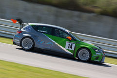 SEAT LEON EURO CUP RACE CAR Royalty Free Stock Photography