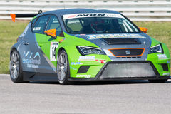 SEAT LEON EURO CUP RACE CAR Stock Photography