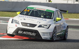 SEAT LEON EUROCUP Royalty Free Stock Images