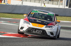 SEAT LEON EUROCUP Royalty Free Stock Photography