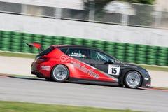 SEAT LEON filiżanki EURO samochód wyścigowy obraz royalty free