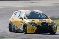 Seat Leon Long Run Race Car Fotografia de Stock