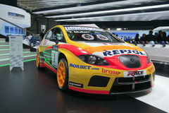 Seat Leon TDI WTCC World Champion Royalty Free Stock Photo
