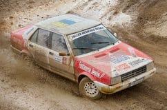 Seat Malaga, vintage rally car. Royalty Free Stock Images