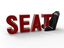 Seat metaphore Stock Photo