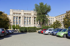 The seat of the Ministry of Finance, Warsaw Royalty Free Stock Photography