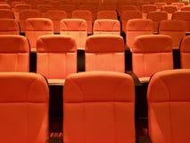 Seat nell'auditorium Fotografie Stock Libere da Diritti