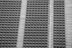 Seat no estádio para o fundo e a textura Fotos de Stock