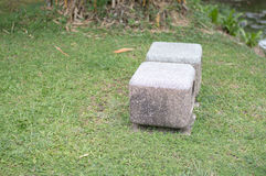 Seat no jardim Fotos de Stock