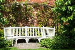 Seat no jardim Foto de Stock Royalty Free