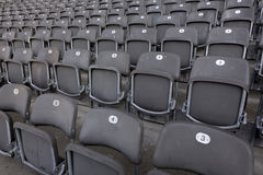 Seat numbers Stock Photos