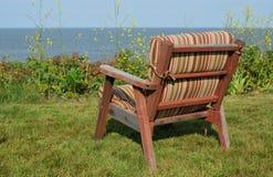 Seat par la mer Photo stock
