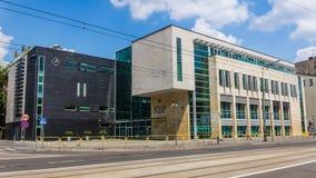 Seat of the Polish National Bank Stock Photos