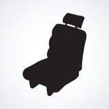 Seat pour la voiture Retrait de vecteur Photos libres de droits