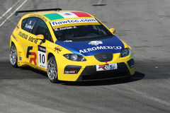 Seat race cars Royalty Free Stock Photo