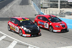 Seat race cars Stock Photos
