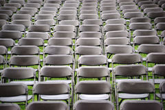 Seat rows Concert Royalty Free Stock Images