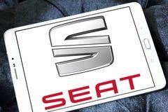 Seat samochodu logo Obrazy Royalty Free