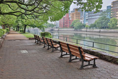 The seat side by ota River Stock Image