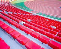 Seat stadium Royalty Free Stock Images