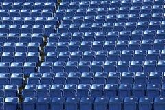 Seat of stadium Stock Image