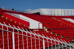 Seat stadium Royalty Free Stock Photo